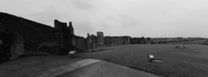 Richmond Castle panorama