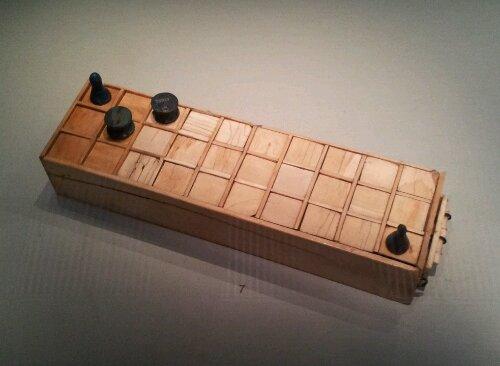 Senet game at the British Museum